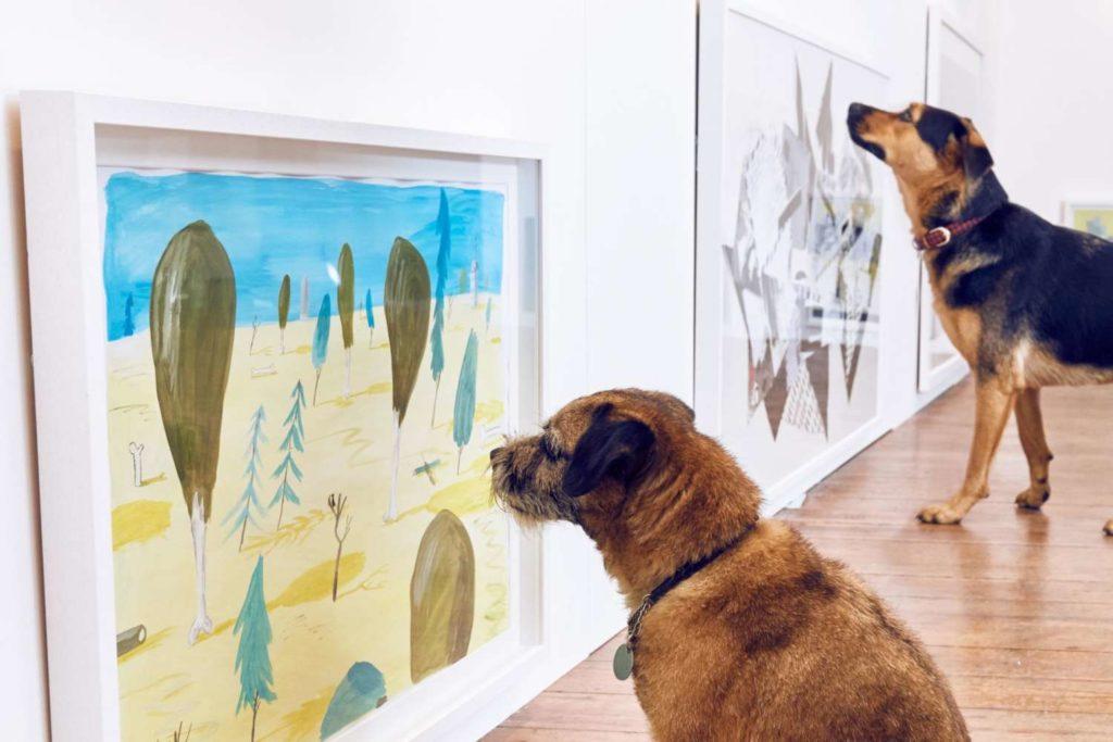 Dog Art - Paintings