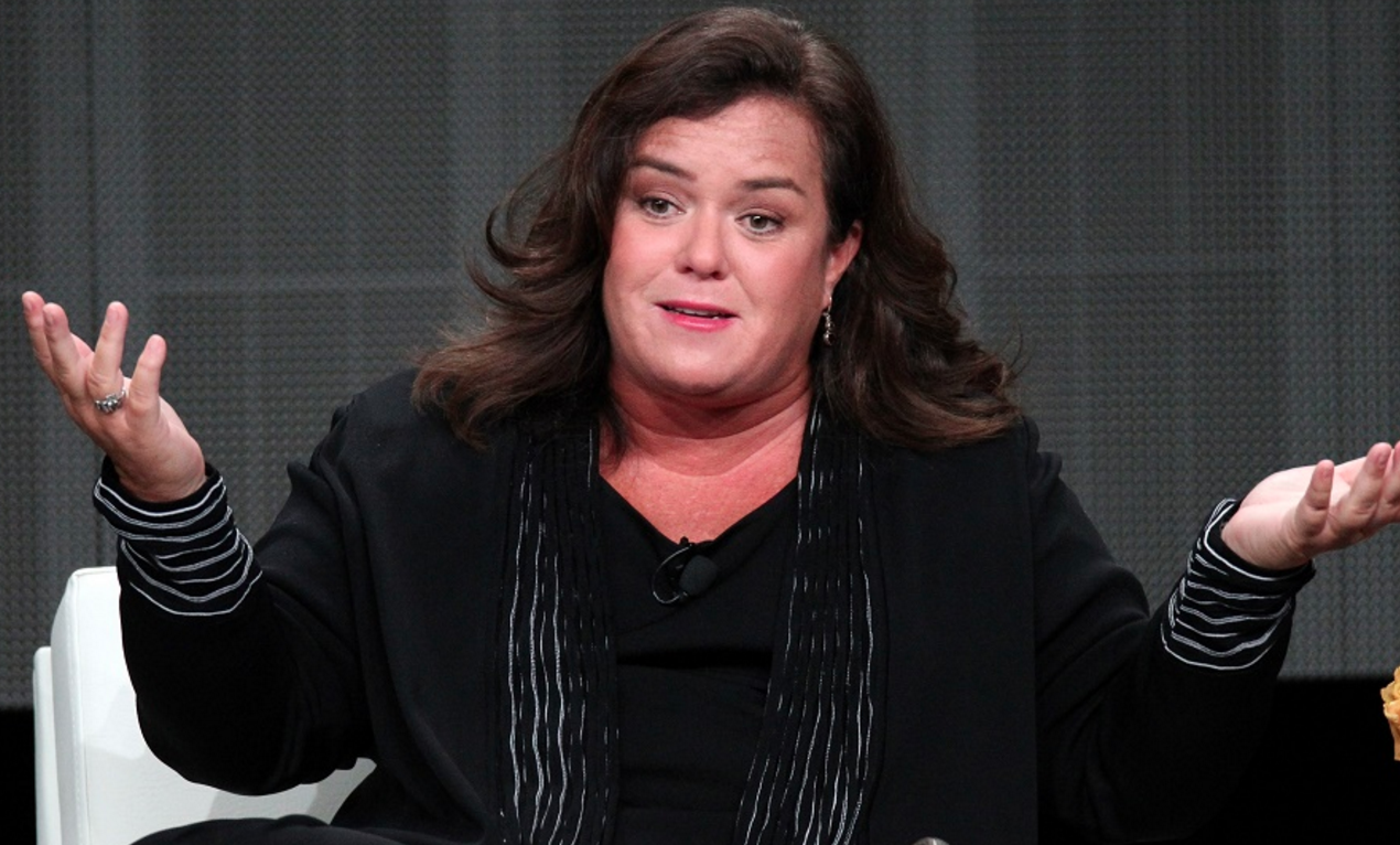 rosie o'donnell protest donald trump white house