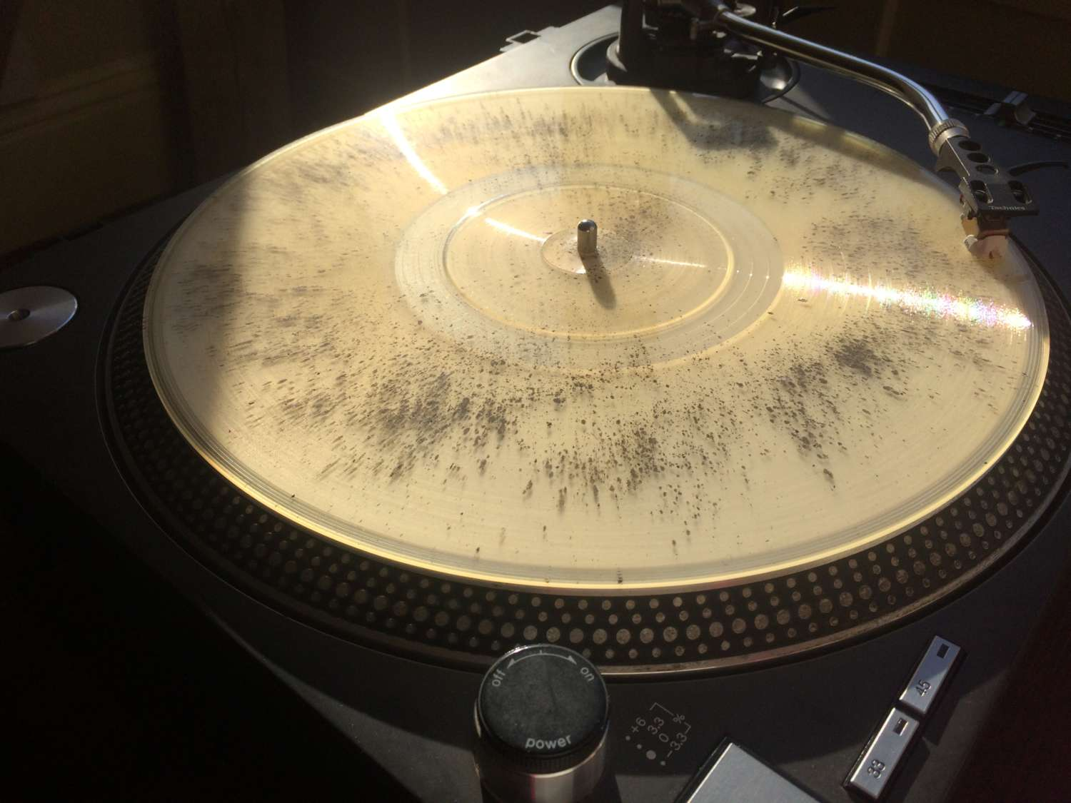 cremated ashes vinyl