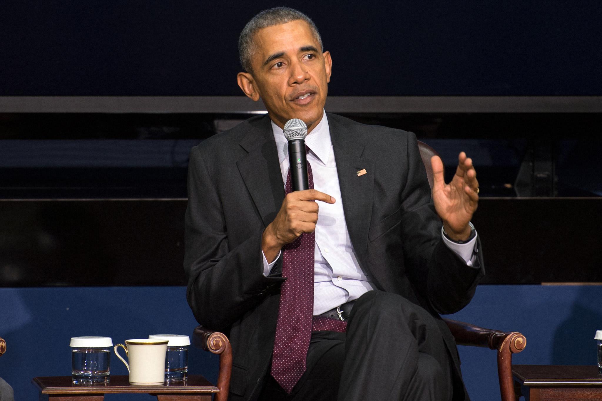 Obama Political Courage