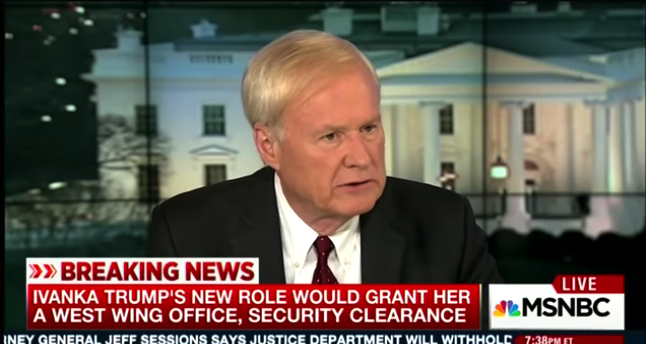 Chris Matthews Insults Ivanka And Jared