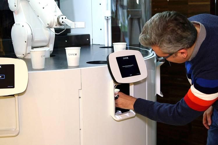 cafe x san francisco coffee shop robots