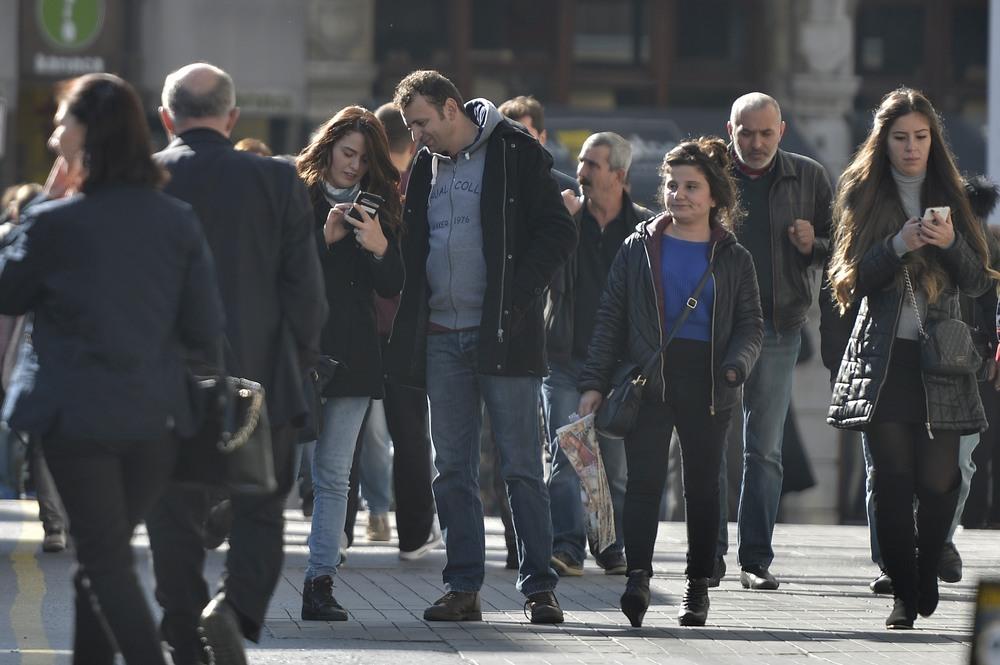 Pedestrians on Phones - 2