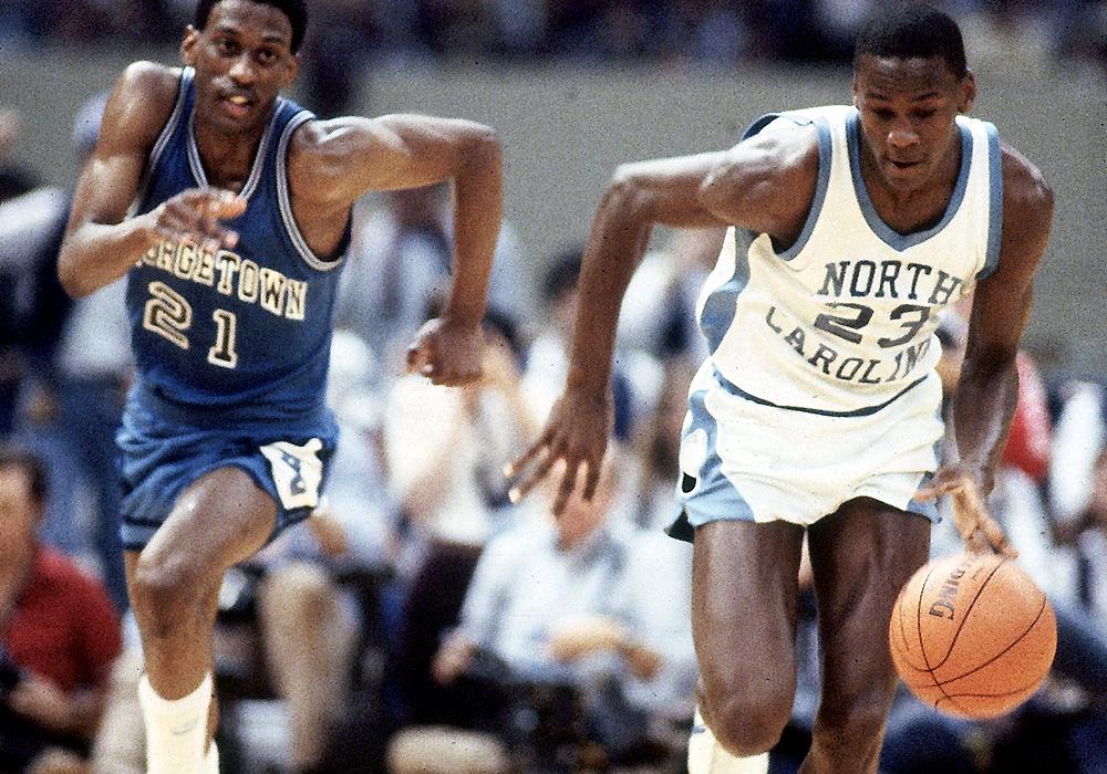 University of North Carolina vs Georgetown University, 1982 NCAA National Championship