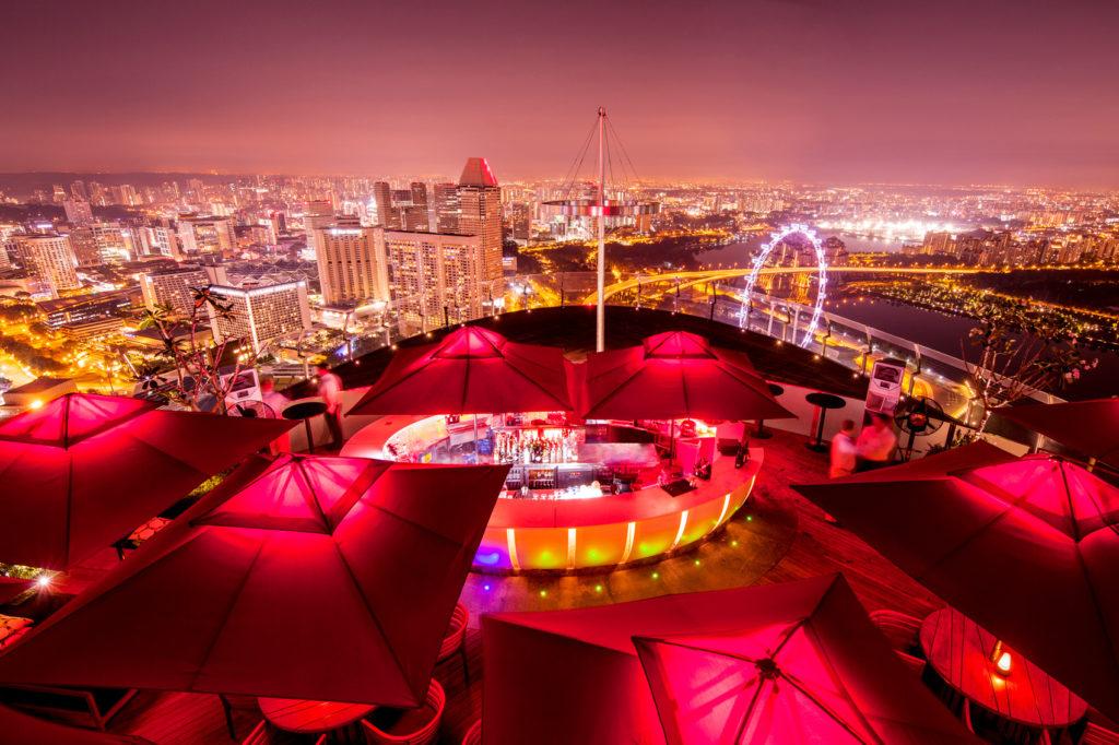 Singapore Dinner - Night