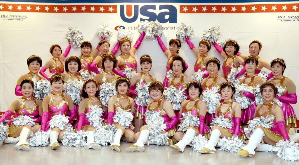 Japan Cheerleaders 3