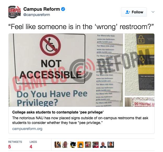 Pee Privilege Posters