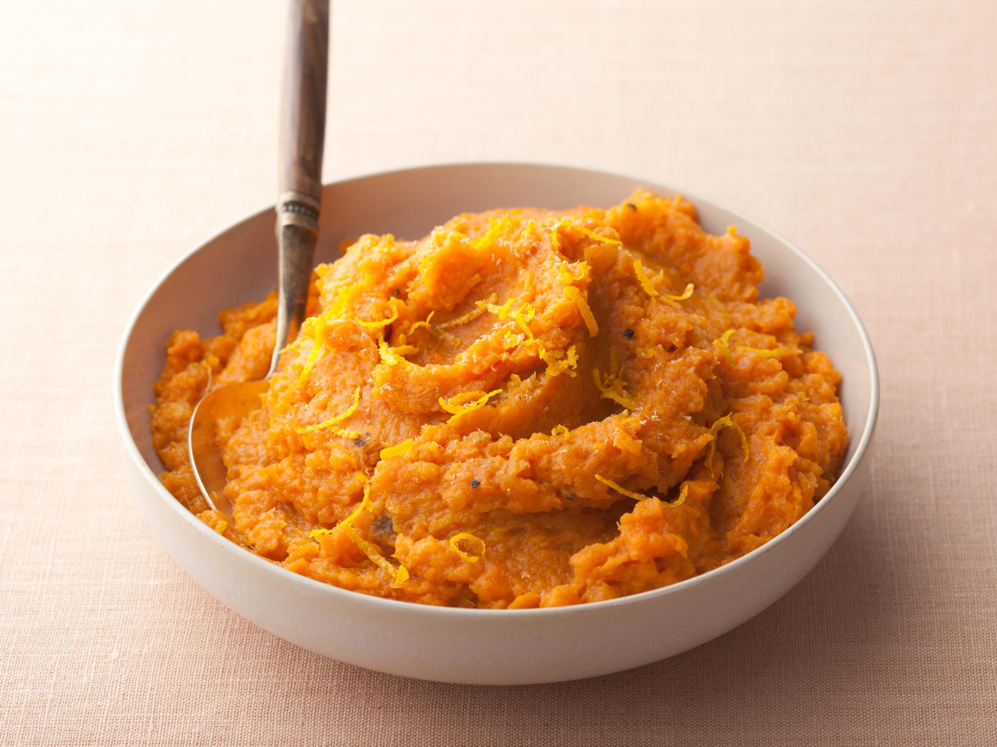 Mashed Sweet Potatoes; Rachael Ray