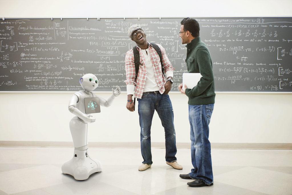 Pepper the Robot - Guys