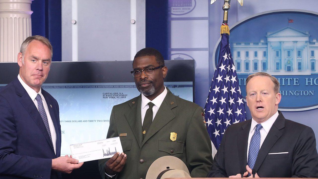 Donald Trump Salary Donation