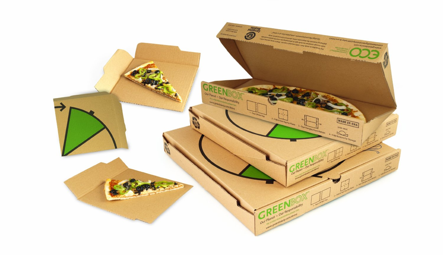 Pizza Box - Greenbox