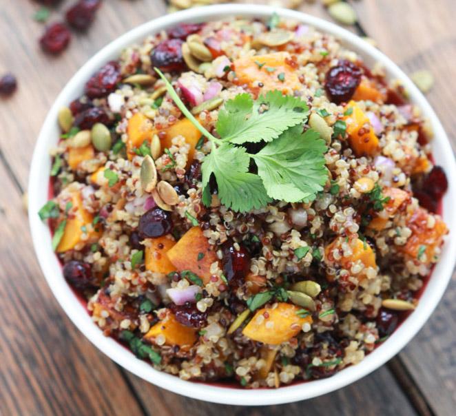 butternut-squash-and-cranberry-quinoa-salad