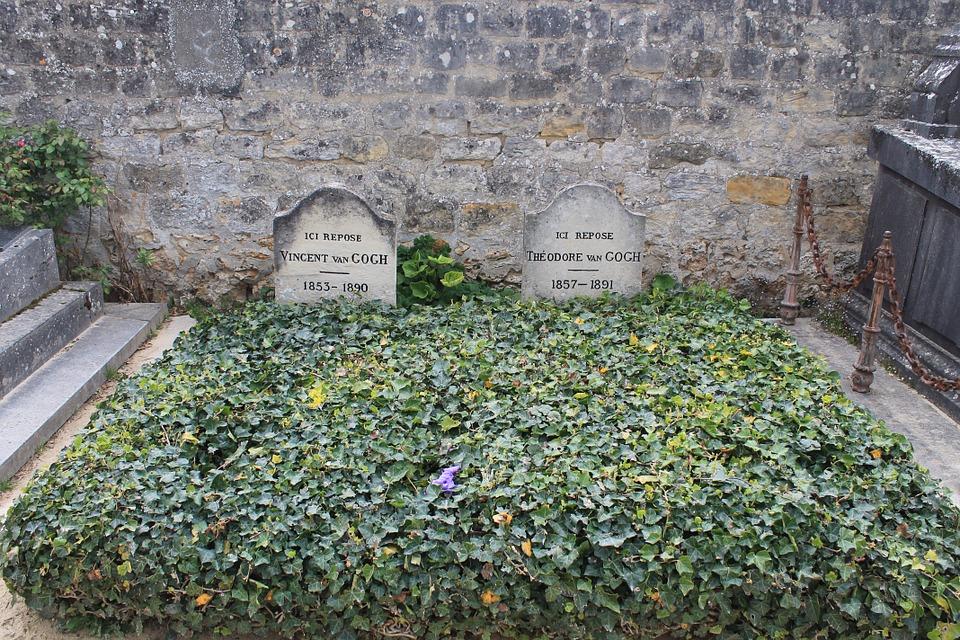 vincent van gogh gravesite post-impressionist artist auvers-sur-oise