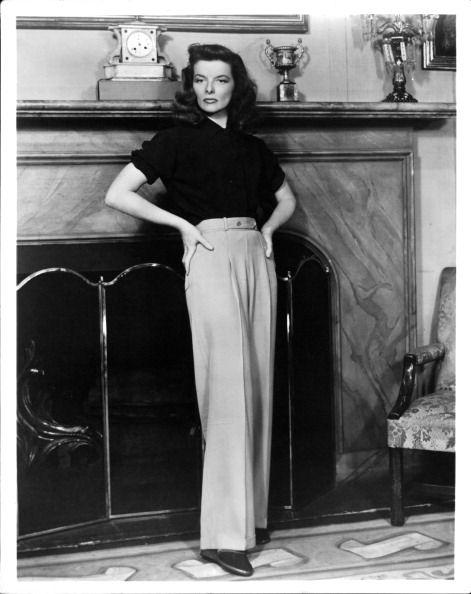 Katharine Hepburn 1940s Pants(1)