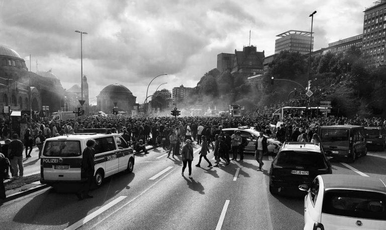 Hamburg g20 protest