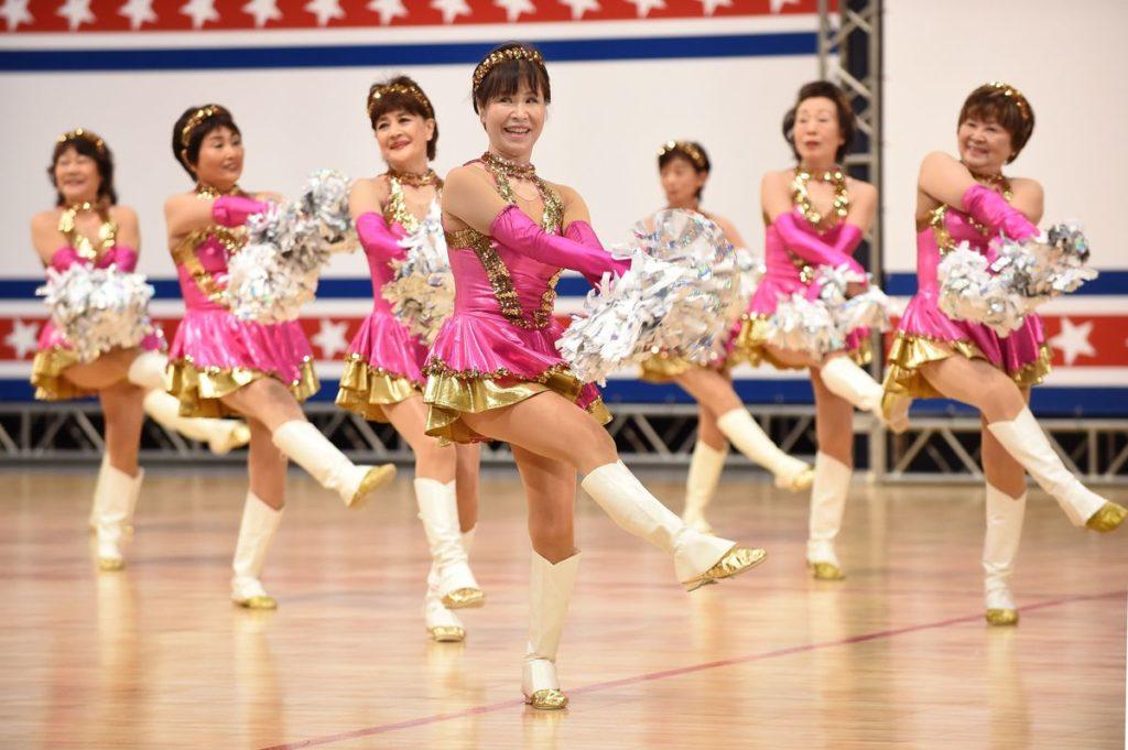 Japan Cheerleaders 2